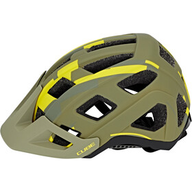 Cube Badger Casque, green camo